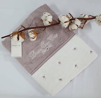 Полотенце Maison D'or Lavoine Butterfly 85x150 Fiolet