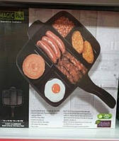 Гриль-сковорода универсальная антипригарная Magic Pan
