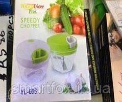 Измельчитель Nicer Dicer plus speedy chopper ручной овощей и фруктов
