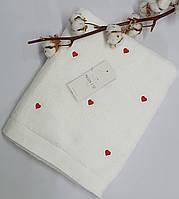 Полотенце Maison D'or Love 85x150 White/Red