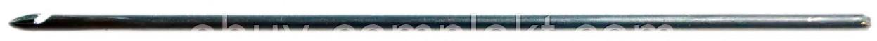 Крючок прошивной (для прошивки подошвы обуви) СІА 0,8 мм 1мм., 1,2мм., 1,4мм, 1,6мм., 1,7 мм., 1,8мм., 2,0 мм.