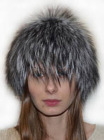 Жіноча шапка з хутра скандинавської чорнобурки.
