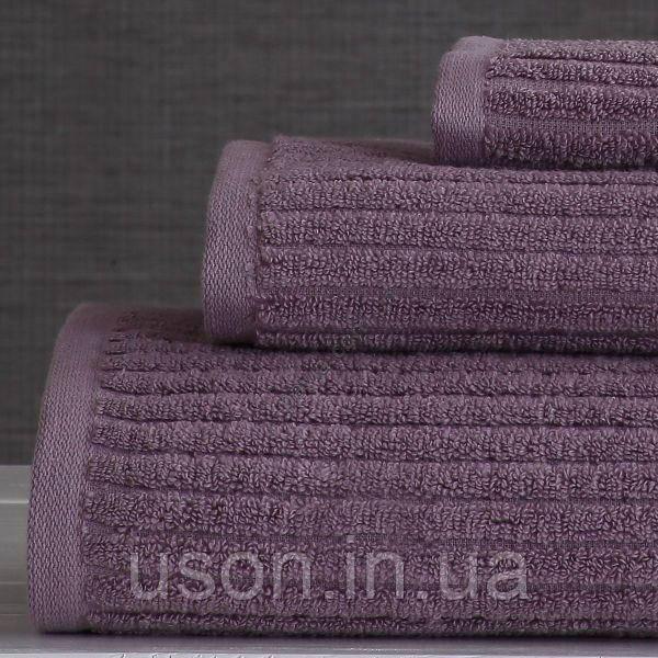 Набор махровых полотенец (30*30, 50*85, 75*150 ) TM Pavia Турция Stripe lila
