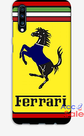 Чехол с принтом Ferrari для Samsung Galaxy A70 2019 A705