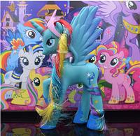 Пони 14 см My Little Pony Мой маленький пони Голубая Игрушка для девочек Единорог