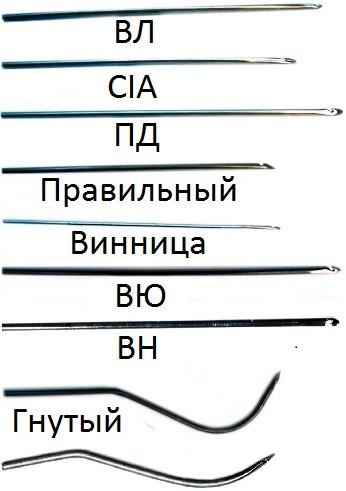 Гачок прошивний ПД 1.2 мм - 2.0 мм