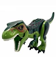 Динозавр Лего большой Длина 29 см Конструктор динозавр