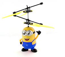 Летающий Миньон интерактивная игрушка Вертолёт