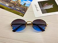Сонцезахисні окуляри жіночі круглі