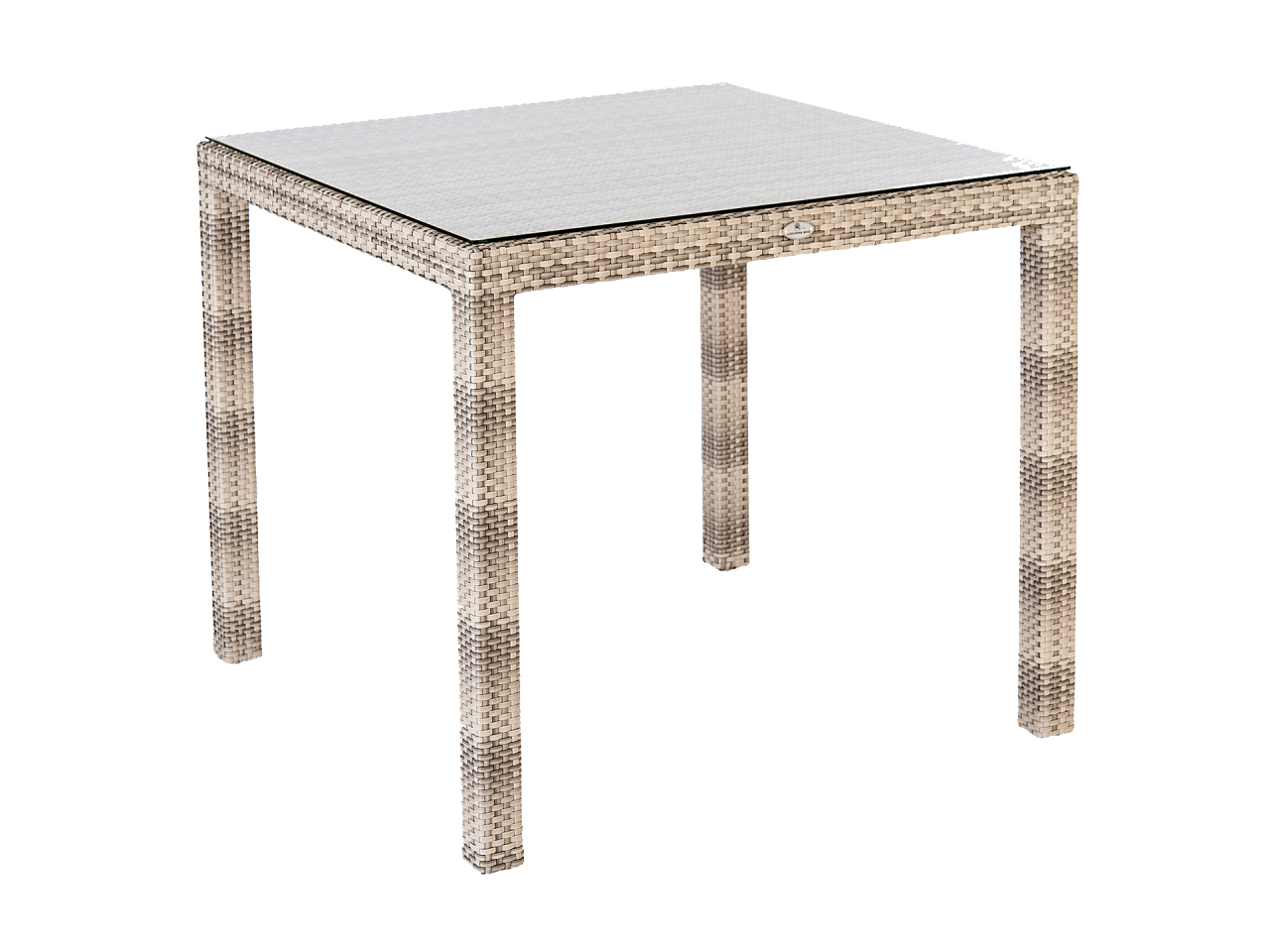 Океан Фиджи Стол 0,8 × 0,8 м. Стекло