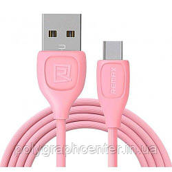 Кабель REMAX Lesu Cable Type-C  RC-050 1.5A 1m Pink