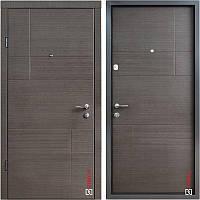 Дверь входная металлическая ZIMEN Duat, Optima, SAP, Венге серый, 850х2050, левая