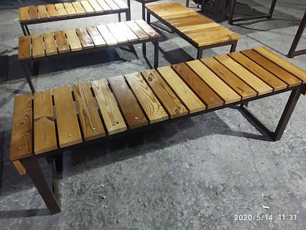 Столи, лавки, садові меблі, фото 2