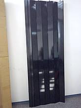 Двері гармошка глуха чорне дерево 685, 810х2030х6мм, доставка по Україні