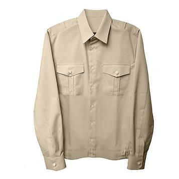 Рубашка форменная длинный рукав цвет Тан