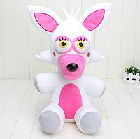 Мягкая фирменная оригинальная игрушка Мангл 30 см 5 ночей с Фредди Аниматроники Фнаф