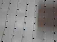 Коврик для ванны силиконовый  40 х 60см плотный белый квадратный