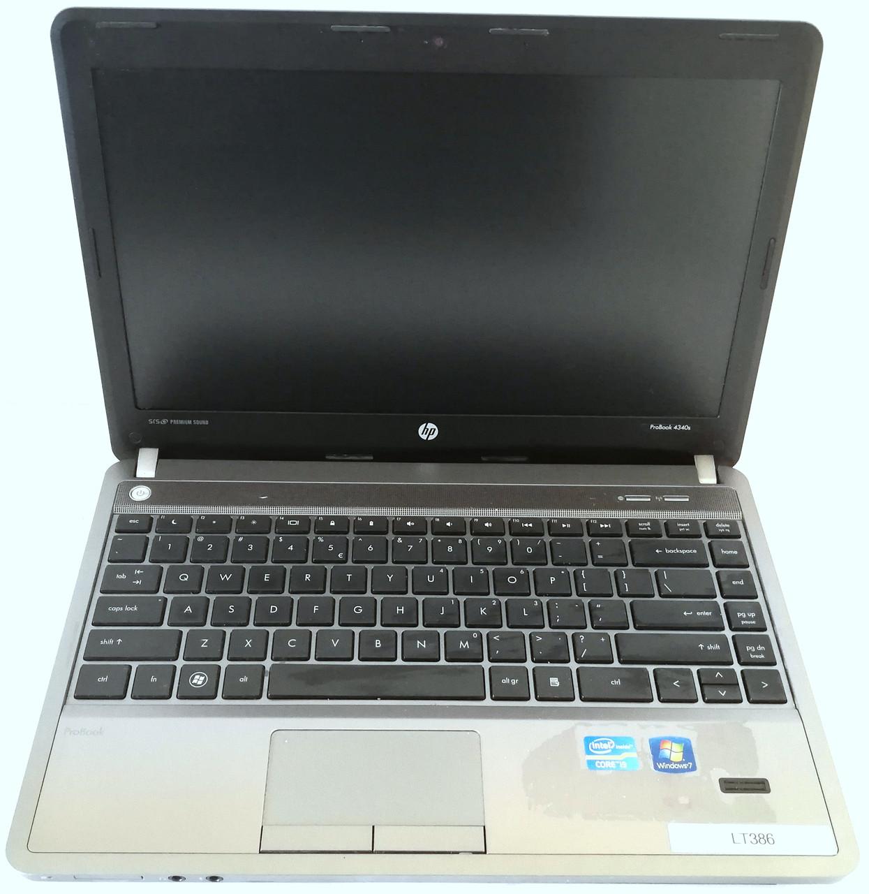 "Ноутбук HP ProBook 4340S 13.3"" Intel Core i3-2370M 2.4 ГГц Б/У На запчасти"