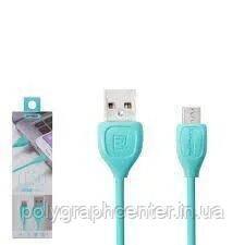 Кабель REMAX Lesu Cable Type-C  RC-050 1.5A 1m Pink Синий