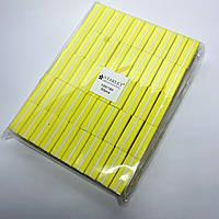 Бафы для шлифовки ногтей Starlet Professional 100/180 желтые 50 шт