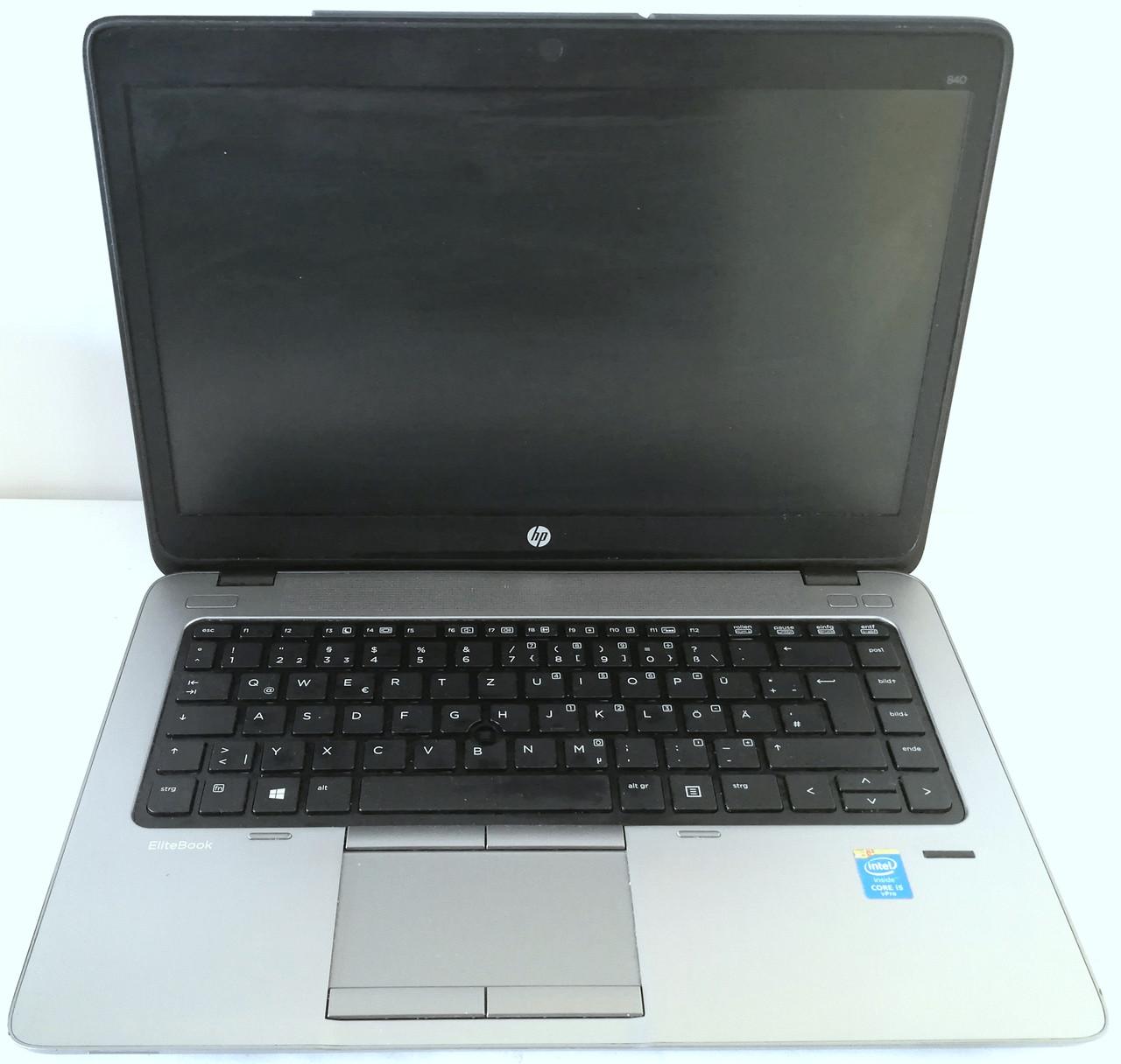 """Ноутбук HP EliteBook 840 G1 14"""" Intel Core i5-4200U 1.6 up 2.6 ГГц Б/У На запчасти"""