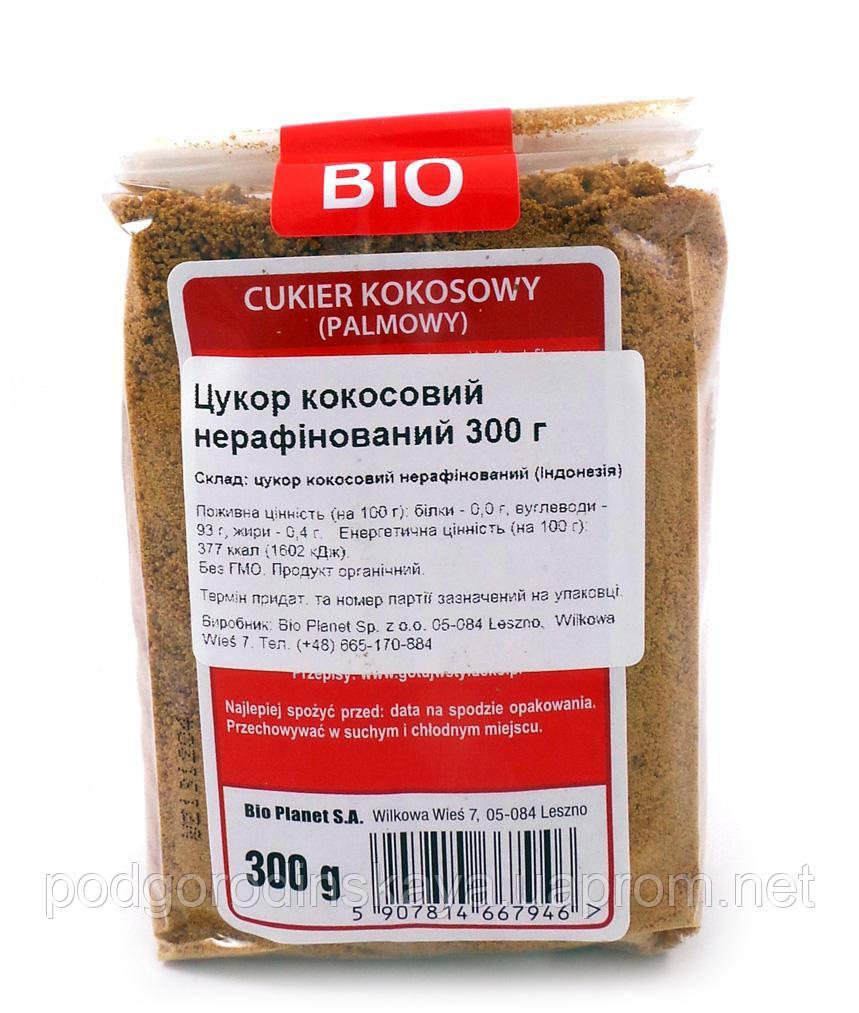 Кокосовый сахар органический Bio Planet 300 г