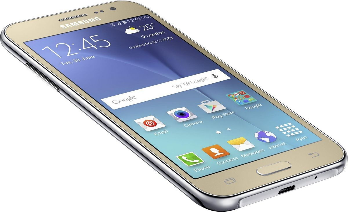 Samsung Galaxy J2 Duos J200 1/8GB Gold Grade С Б/У
