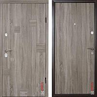 Дверь входная металлическая ZIMEN Inkanta, Optima, Fuaro, Дуб сантана, 850х2050, левая