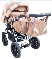 Универсальная коляска-трансформер Trans baby Prado lux (Lux 03/Lux 24)
