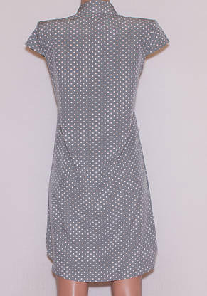 Літнє плаття сорочка короткий рукав (44), фото 3