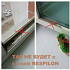 Сетка москитная - фильтр антипыль антисмог для пластиковых окон RESPILON AIR 5.0, фото 3