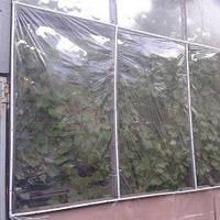 Плёнка прозрачная, термоусадочная для теплиц и парников, ширина 2.0 м