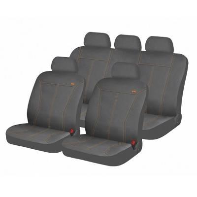 Чехлы для автомобильных сидений Hadar Rosen PHOSPHOR Серый/Оранжевый 10925, фото 2
