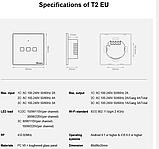 Sonoff Touch T0 3gang (3 кнопки)Wi-fi трехканальный сенсорный умный выключатель, фото 7
