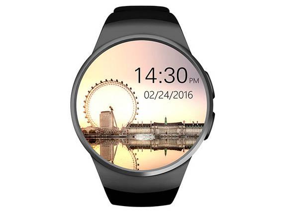 Умные часы King Wear KW18 с поддержкой SIM-карты (Черный), фото 2