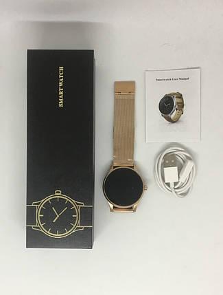 Умные часы Lemfo K88H с пульсометром (Бронзовый), фото 2