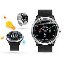 Умные часы Lemfo N58 Metal с измерением давления и ЭКГ (Черный), фото 2