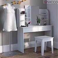 Vicco туалетный столик Charlotte 108x142, цвет белый