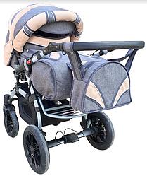 Универсальная коляска-трансформер Trans baby Prado lux (Lux 06/Lux 24)