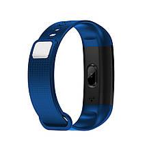 Умный фитнес браслет Lemfo Y5 с измерением давления (Синий), фото 2