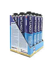 Упаковка монтажной пены. CONTUR 750 PRO (BOX 12 шт)