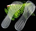 Гелеві силіконові устілки вкладиші для взуття жіночі для зручності і комфорту ОПТ, фото 4