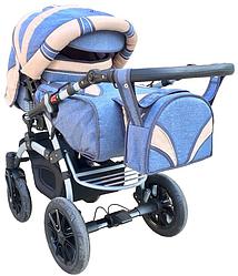 Универсальная коляска-трансформер Trans baby Prado lux (Lux 33/Lux 24)