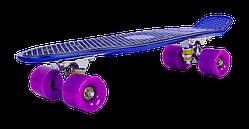 Пенни борд, скейтборд Penny TONED MIXCOLOR 22 дюйма металлизированная дека