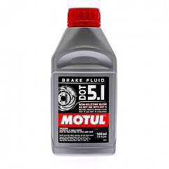 Тормозная жидкость MOTUL DOT 5.1 (0,5L)
