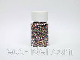 Різнокольорові бульонки декору нігтів створення слаймов