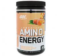 Аминокислоты Optimum Nutrition Amino Energy 270g. (ПЕРСИКОВЫЙ ЧАЙ)