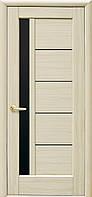Двери Новый Стиль Грета Black ПО ясень, коллекция Ностра