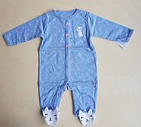 Carters Человечик (слип) для девочки на 9 месяцев, фото 1