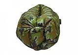 Надувной матрас Ламзак AIR SOFA Army водонепроницаемый, ламзак-лежак, Надувной портативный диван, фото 3